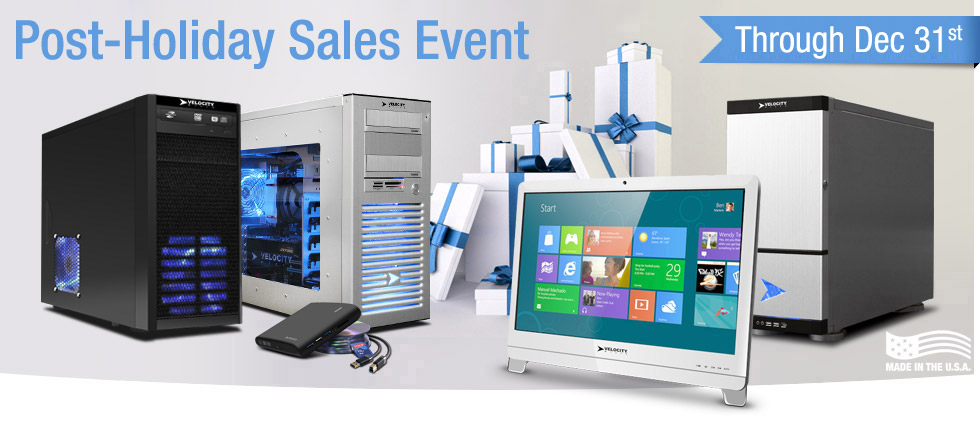 Velocity Micro's Last Sales Event of 2012!