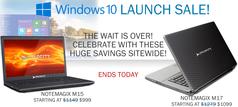 Windows 10 Launch Sale