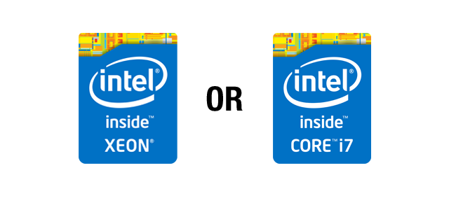 Xeon vs i7/i5 – What's the difference?