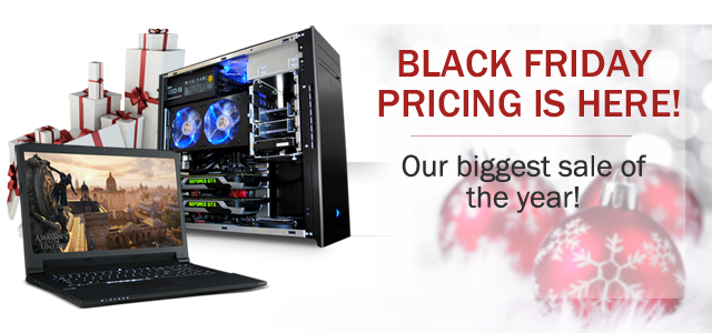 Velocity Micro Black Friday Specials