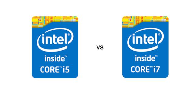 Core i7 vs i5