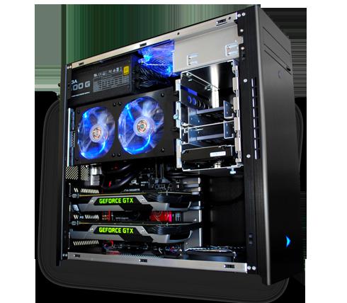 Raptor Z55- Award-Winning Custom Gaming PC | Velocity Micro