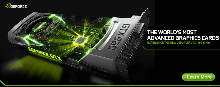 GeForce GTX 980 & 970 Graphic Cards