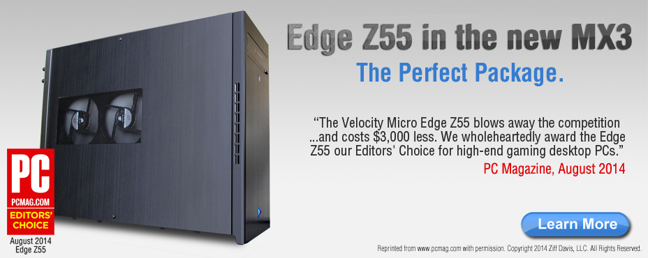 Edge Z55 Gaming PC