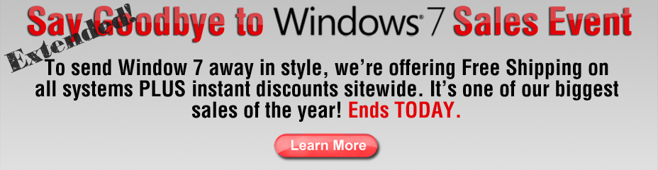 Windows 7 Sale