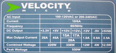 Velocity Micro | PC Support
