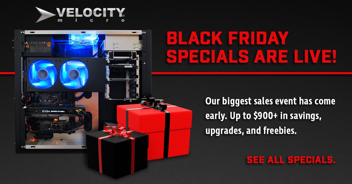 Black Friday 2017 PC Deals