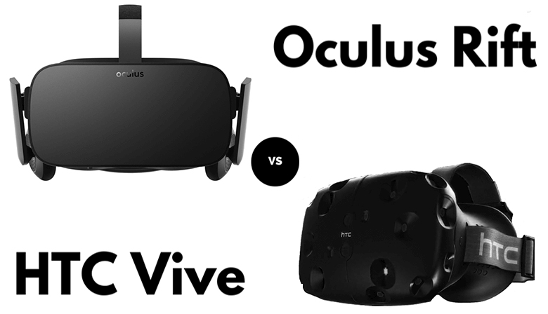 Oculus Rift vs. HTC Vive: Which is Which?