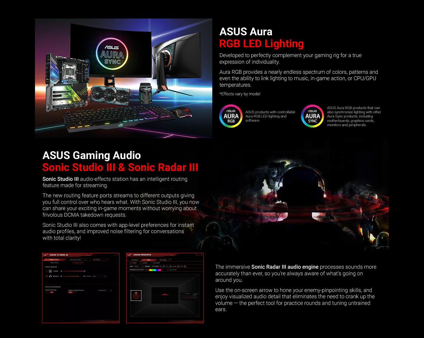 Asus Aura Alternative