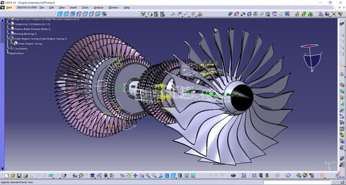 Rendering with CATIA