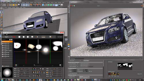 rendering with cinema 4d