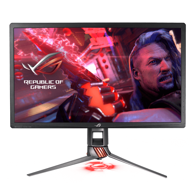 Asus ROG Swift PG27UQ front image