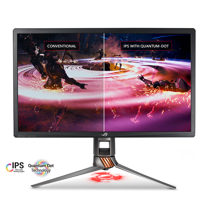 Asus ROG Swift PG27UQ Quantum Dot technology